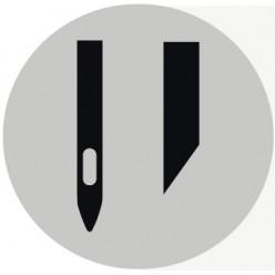 Одноигольные с обрезкой края материала
