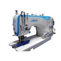 Jack JK-5558GW универсальная прямострочная одноигольная машина с обрезкой края материала и встроенным сервоприводом