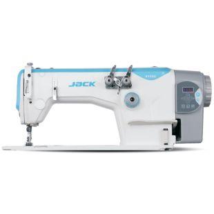Jack JK-8558WD-1 двухигольная швейная машина цепного стежка (параллельная игла) со встроенным сервоприводом