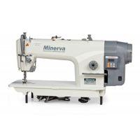 Minerva M818-JDE одноигольная прямострочная швейная машина