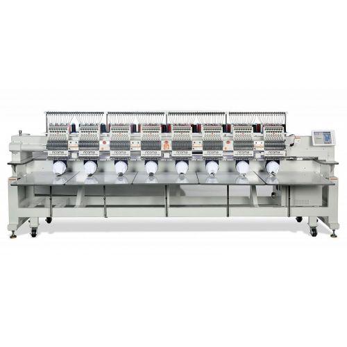Ricoma FHT - 1210 12-игольная 10-головочная вышивальная машина с плоской платформой