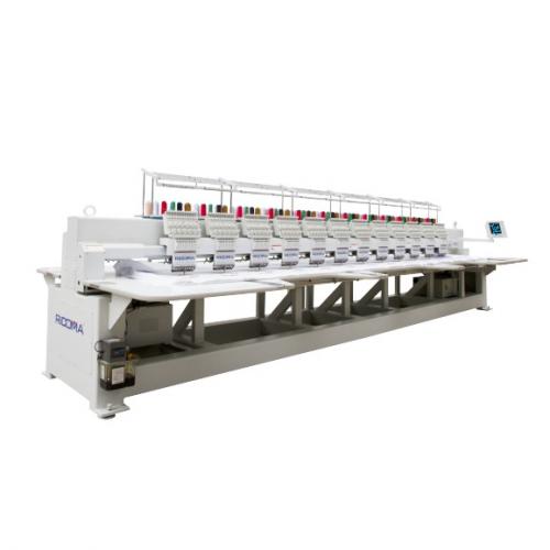 Ricoma FHT - 1212 12-игольная 12-головочная вышивальная машина с плоской платформой