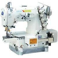 Jack JK-8670BDI-01GB-356/364 3-игольная пятиниточная распошивальная швейная машина со встроенным сервоприводом