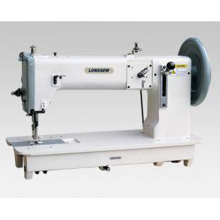 LONGSEW GA243 Одноигольная промышленная швейная машина с увеличенными челноками