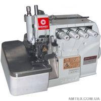 Gemsy GEM7714D1 Оверлок промышленный четырехниточный с обрезкой нити