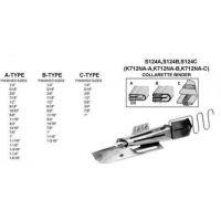S124-A-50-20, S124-A-70-30, S124-В-60-20, S124-В-70-25 Окантователь для плоскошовной машины (распошивалка)