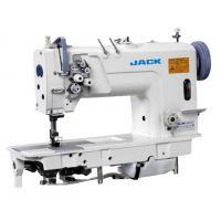 Jack JK 58720B Двухигольная промышленная швейная машина без отключения игл с увеличенными челноками