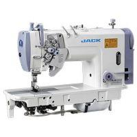 Jack JK-58750 Двухигольная промышленная швейная машина с отключением игл и увеличенными челноками