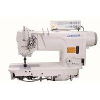 Jack JK-58420D4 Двухигольная промышленная швейная машина без отключения игл с автоматикой