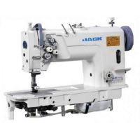 Jack JK-58420 Двухигольная промышленная швейная машина без отключения игл