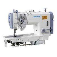 Jack JK-58450 Двухигольная промышленная швейная машина с отключением игл