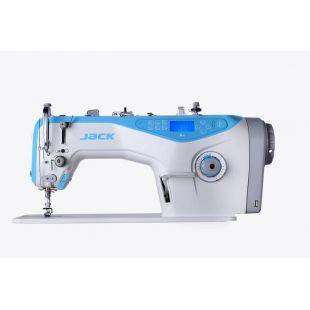 Jack A4-7H одноигольная прямострочная 'говорящяя' швейная машины с автоматикой для тяжелых тканей