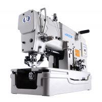 Jack  JK-781/2/3D/DK/ промышленный петельный полуавтомат (прямая петля) со встроенным сервомотором
