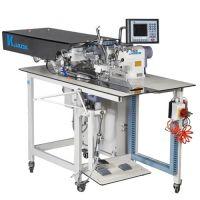 Jack JK-T5878-58B автоматизированная швейная машина для заготовки планки 'поло'