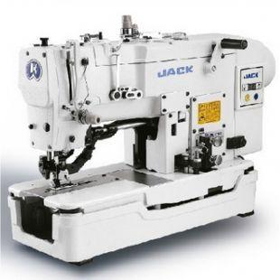 Jack JK-T782D промышленная петельная машина (прямая петля) со встроенным сервомотором