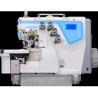 Jack С4-3-02/233 промышленный трехниточный оверлок со встроенным сервомотором и автоматикой