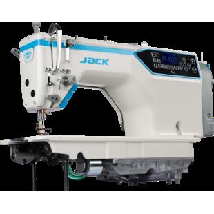 Jack JK-A5E-HQ прямострочная машина с автоматической закрепкой и обрезкой нити