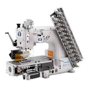 Jack JK-8009VC-17032P 17-игольная швейная машина цепного двухниточного стежка