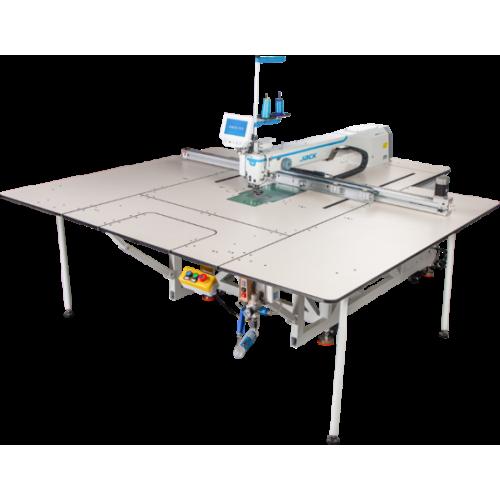 Jack MS -100 A +- 95SSYX - F13 программируемая промышленная 1-игольная швейная машина-автомат
