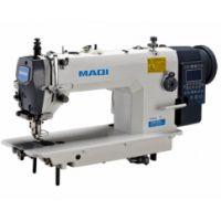 MAQI 0303E-TD4  прямострочная одноигольная машина полный автомат,двойной транспорт