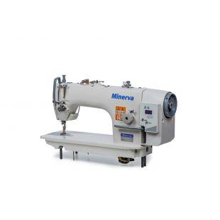 Minerva M9800DD-1 универсальная прямострочная швейная машина со встроенным сервомотором