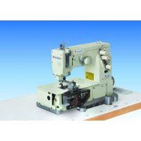 Shunfa SF2000С двухигольная трехниточная плоскошовная машина для изготовления шлевок