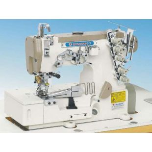 Shunfa SF562-02BB пятиниточная распошивальная машина для окантовки бейкой