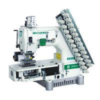 Zoje ZJ1414-100-403-601-612-06064 Шестиигольная машина для пришивания лампасов