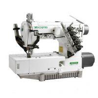 Zoje ZJ2579A -164M-VF, ZJ2579А -156M-VF Двухигольная плоскошовная машина для изготовления шлевки