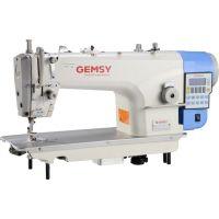 Gemsy GEM 8957 CE4 одноигольная промышленная прямострочная машина с автоматикой