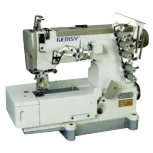 Gemsy GEM 1500B-01/5,6 промышленная распошивальная машина с плоской платформой