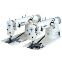 Juki MH-380 Двухигольная швейная машина цепного стежка с параллельными иглами