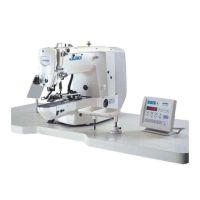 Juki LK-1903ASS302 Промышленная пуговичная швейная машина с электронным управлением