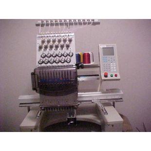 Ricoma RCM-1501PT 15-игольная 1-головочная вышивальная машина для кепок и готовых изделий
