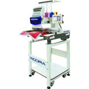Ricoma MT-1501TC-7S 15-игольная одноголовочная вышивальная машина для тяжелых материалов