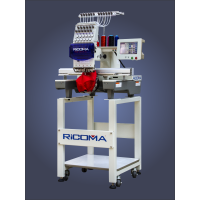 Ricoma RCM-1201TC-7S 12-игольная одноголовочная вышивальная машина для головных уборов