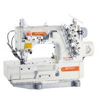 Siruba F007KD-W122-356/FHA/UTG Плоскошовная швейная машина (распошивалка) со встроенным сервомотором и электромагнитной обрезкой нитей
