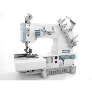 Siruba HF008-02056FBQ/A, HF008-02056FBQ/B Двухигольная машина цепного стежка (шлевочная)