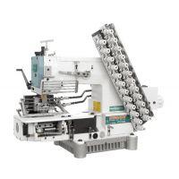 Siruba VC008-12064P двенадцатиигольная машина цепного стежка для выполнения декоративных строчек