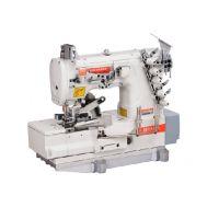 Siruba F007K-W222-356/FQ/FAC плоскошовная швейная машина (распошивалка) с устройствами подачи и пневмообрезки бейки