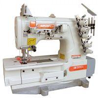 Siruba F007K-W122-364/FHA, F007K-W122-356/FHA плоскошовная швейная машина (распошивалка) с устройством для подгибки