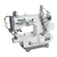 Siruba S007KD-W122-356/PCH-3M/UTT плоскошовная машина (распошивалка) с миницилиндрической платформой, пневмообрезкой нитей и встроенным сервомотором