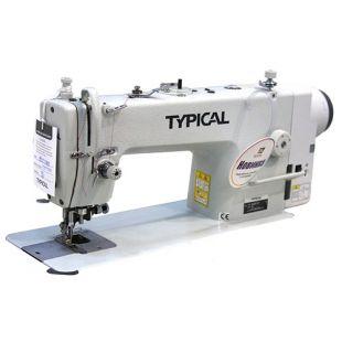 Typical GC 6717MD одноигольная машина с обрезкой края материала и встроенным сервоприводом