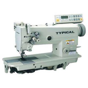 Typical GC9751НD3 двухигольная машина челночного стежка с автоматическими функциями
