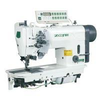 Zoje ZJ2845-5-BD-D3/PF Двухигольная машина челночного стежка с автоматикой для тяжелых тканей