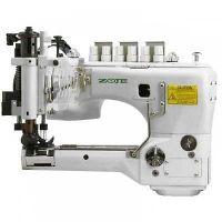 ZOJE ZJ-35800 DNU трёхигольная шестиниточная швейная машина с П–образной платформой