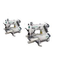 Zoje ZJC2542PR-156M распошивальная машина с цилиндрической платформой и роликами для резинки