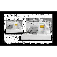 Zoje ZJ928-PL Трехигольная машина цепного стежка с П-образной платформой