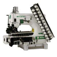 Zoje ZJ1414-100-403-601-613-12064 Двенадцатиигольная машина с цилиндрической платформой двухниточного цепного стежка