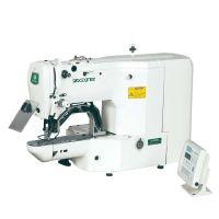 Zoje ZJ1900DSS-0604P-3-J-TP Электронная закрепочная швейная машина (поле 40*60 мм)